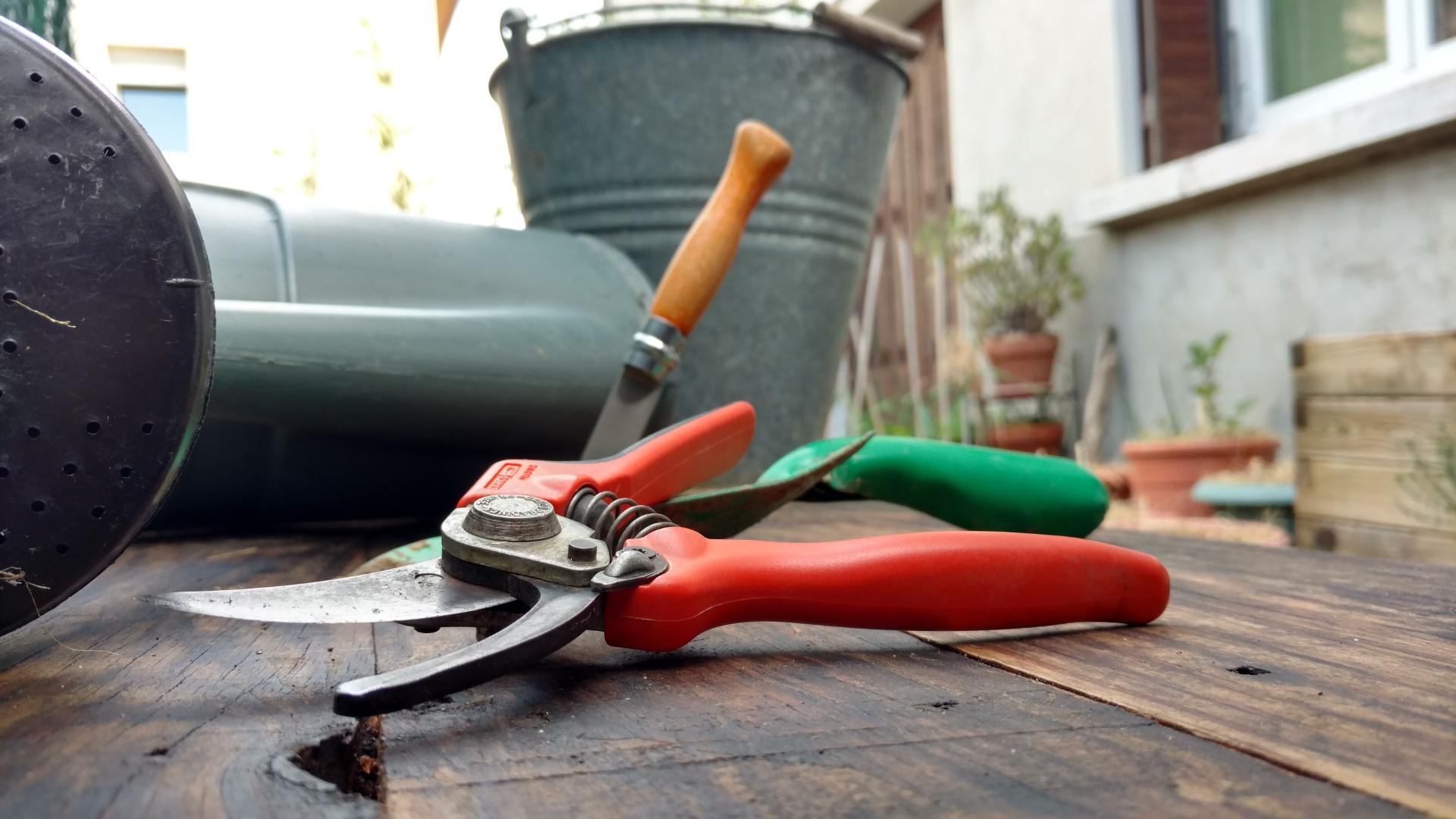 Le potager minimalsite, les outils