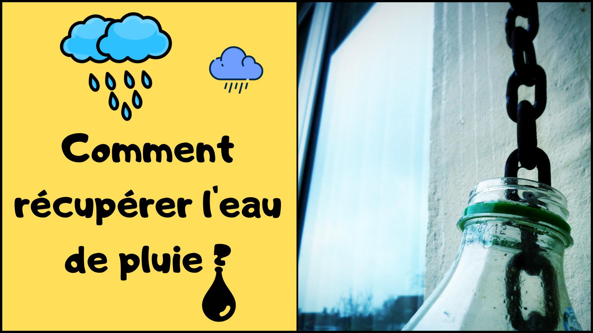 7 étapes pour récupérer l'eau de pluie sur votre terrasse (ou votre balcon)